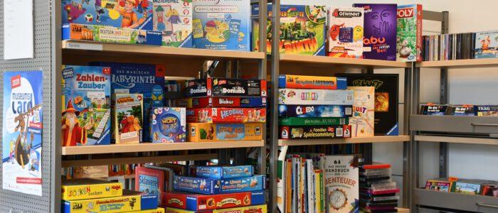 Spiel der Stadtbücherei
